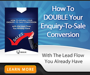how to double your enquiry-to-sale conversion banner