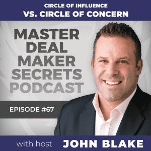 John Blake Circle of Influence vs Circle of Concern