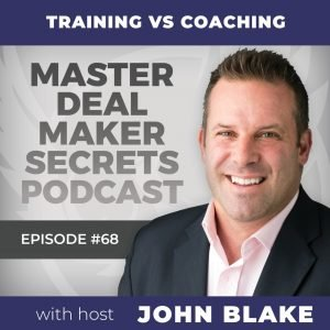 John Blake Training vs Coaching