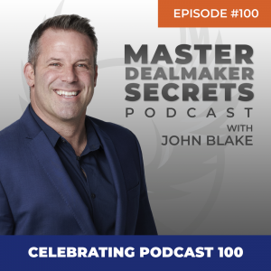 John Blake Celebrating Podcast 100