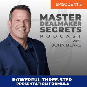 John Blake Powerful Three-Step Presentation Formula