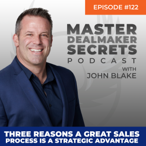 John Blake Three Reasons a Great Sales Process is a Strategic Advantage
